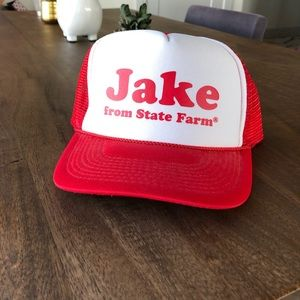 Other - Jake From State Farm Baseball Cap Hat | NWOT